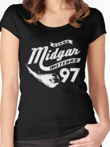 Go Meteors!  Women's Fitted Scoop T-Shirt