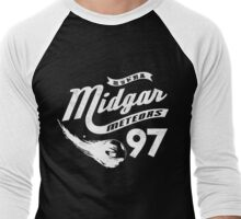 Go Meteors!  Men's Baseball ¾ T-Shirt