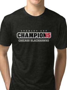 Stanley Cup Champions 2015 Tri-blend T-Shirt