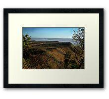 West Arm,Bastion Range, Cambridge Gulf Framed Print