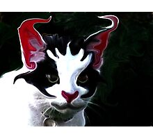 Max,as the Joker Photographic Print