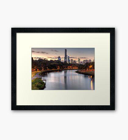 Melbourne • Victoria • Australia Framed Print