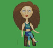 Big Hair Jane Tee-Shirt by lacitrouille