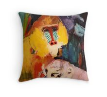 monkeys Throw Pillow