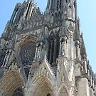 Reims cathedral  by Sherry Freeman
