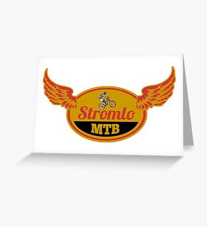 Stromlo Mountain Bike Park Greeting Card