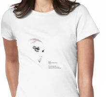 You look lovely in that shirt Womens Fitted T-Shirt
