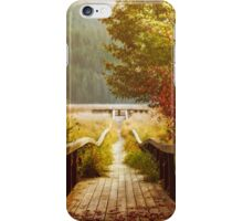 Autumn mood, Washington iPhone Case/Skin