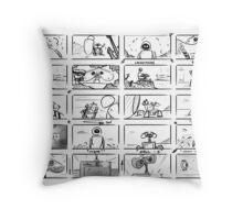 Wall-E Storyboard Throw Pillow