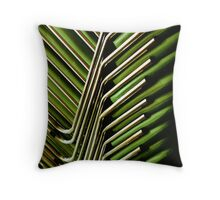 Green Chairs Throw Pillow