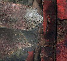 Brick-red by Gisele Bedard