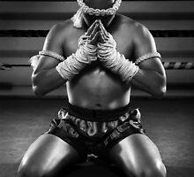 Muay Thai prayer  by rara25