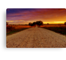 """Southbound"" Canvas Print"