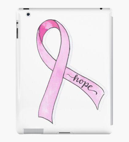 Pink Ribbon Hope iPad Case/Skin