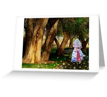 Runaway Bride Greeting Card