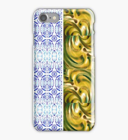 Multi Colored Floral Patterns I iPhone Case/Skin