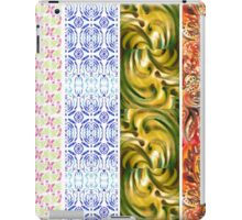 Multi Colored Floral Patterns I iPad Case/Skin
