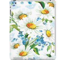 flower design drawstring bas iPad Case/Skin