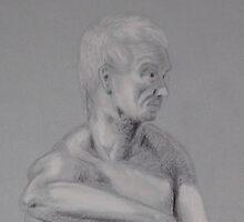 Man in grey by Ed  Krzyzaniak