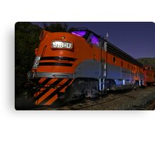 Western Pacific's F7 at Night Canvas Print