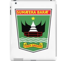 Seal of West Sumatra iPad Case/Skin