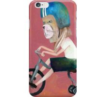 conejo en bicicleta 2006 iPhone Case/Skin