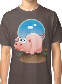 Cartoon Pig design t-shirt Classic T-Shirt