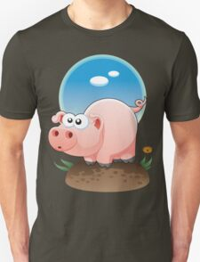 Cartoon Pig design t-shirt T-Shirt