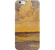 Sunset at sea. Watercolour. 2010Ⓒ iPhone Case/Skin
