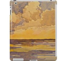 Sunset at sea. Watercolour. 2010Ⓒ iPad Case/Skin
