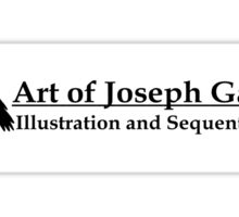 Art of JosephG Sticker