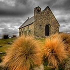Church of the good Shephard - NZ by Hans Kawitzki