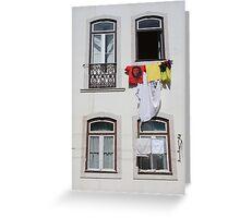 Windows on the world... Greeting Card