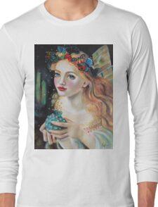Fairy Dust, Kim Turner Art, Original Art Long Sleeve T-Shirt