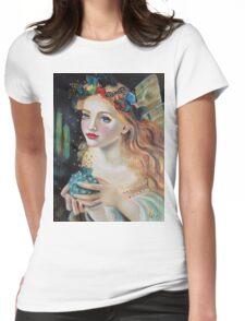 Fairy Dust, Kim Turner Art, Original Art Womens Fitted T-Shirt
