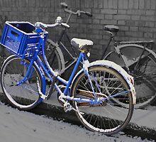 Painted blue by Marjolein Katsma