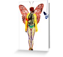 love and gravity 2 Greeting Card