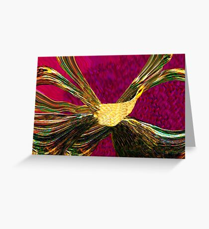 The Golden Phoenix Rising Greeting Card