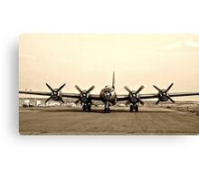 B-29 Bomber Plane - Classic Aircraft Canvas Print