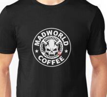 Madworld coffee (clean) BLACK Unisex T-Shirt