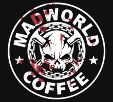 Madworld coffee (bloody) BLACK T-Shirt