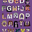 Horror Icon Alphabet by Mike Boon