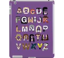 Horror Icon Alphabet iPad Case/Skin