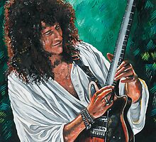 QUEEN - Brian May  'Red Special' by Greg Hart