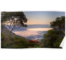 Mists Of Leura  - Blue Mountains World Heritage Area -The HDR Experience Poster