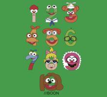 Muppet Babies Numbers Baby Tee