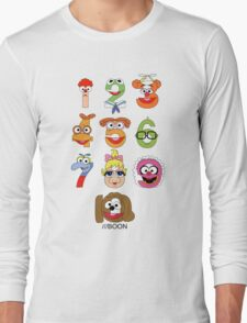 Muppet Babies Numbers Long Sleeve T-Shirt
