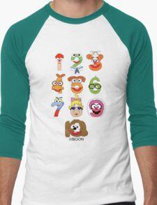 Muppet Babies Numbers Men's Baseball ¾ T-Shirt