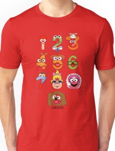Muppet Babies Numbers Unisex T-Shirt