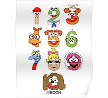 Muppet Babies Numbers Poster
